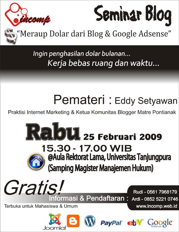 Seminar Google AdSense